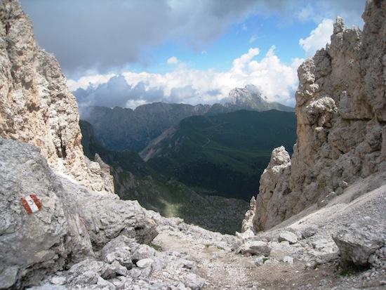 Forcella della Roa (2617m)