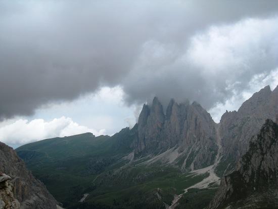 Thunder in the Dolomites, Val Gardena