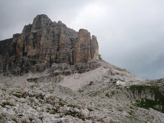 Rifugio Cavazza / Pisciadu