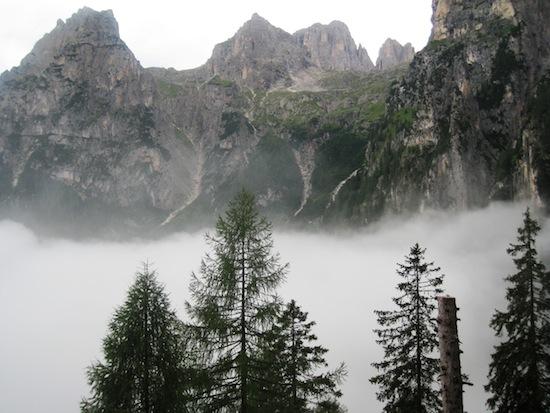 View from Rifugio Treviso